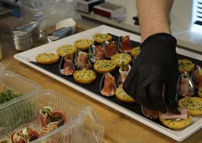 Werkbank op locatie extern excellenz quality catering